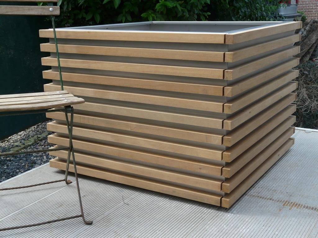 Jardinière En Bois En Hauteur dominox: jardiniere, bac, couvre-murs, bassin, acier