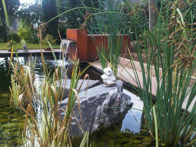 Fontaine et bassin..