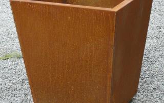 KANSAS acier corten 60x60x69cm