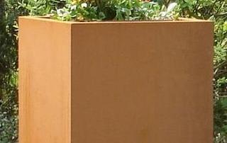 SONORA acier corten 45x45xh60cm