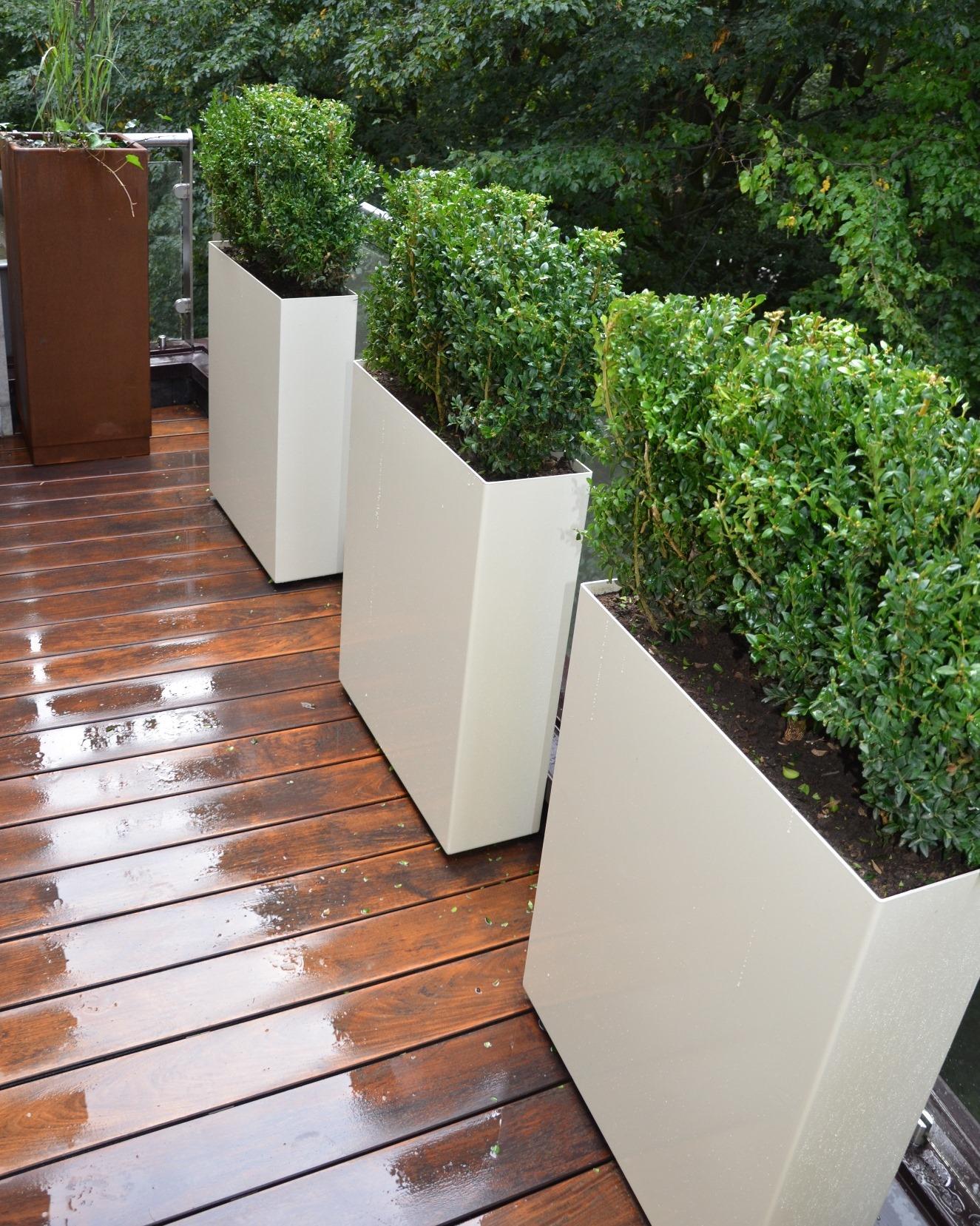 jardiniere artica bac m tallique avec ou sans fond. Black Bedroom Furniture Sets. Home Design Ideas