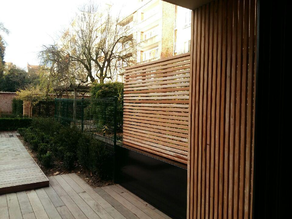 Couvre-mur acier galvanisé laqué biface (Bernard Mizières)
